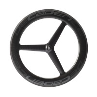 35% Off Tri Spoke 30.9mm Wide 760gr Carbon Tubular Wheel Sets & Free Shipping Worldwide
