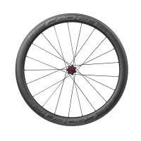 35% Off 49mm Deep 27.7mm Wide 1350gr Carbon Clincher Wheel Set & Free Shipping Worldwide